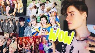 REACCIONO AL K-POP y ME ENCANTA! | BTS, EXO, IKON y más :)