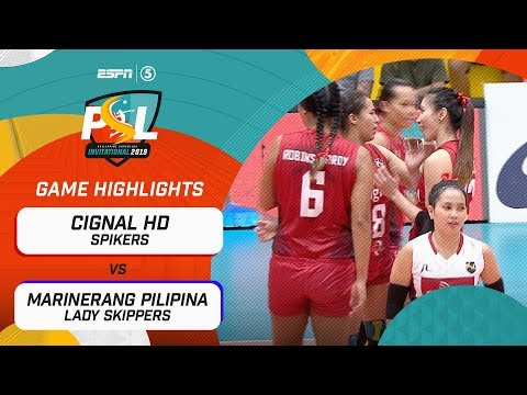 [Sport5]  Highlights: Cignal HD vs. Marinerang Pilipina | PSL Invitational Conference 2019