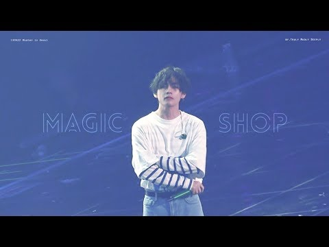 190622 BTS MUSTER In SEOUL - Magic Shop Focus Of 방탄소년단 뷔 Ver.4k