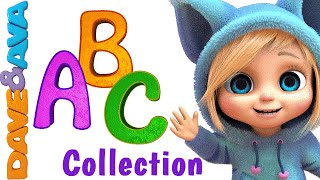 ABC Song | Nursery Rhymes Collection | YouTube Nursery Rhymes from Dave and Ava - Video Youtube