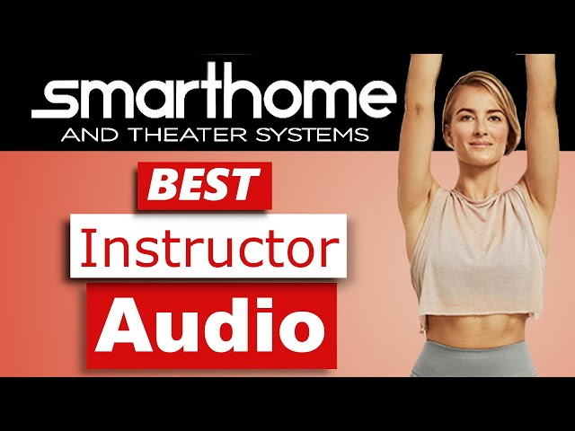 Improve Audio for Online Yoga and Exercise Classes