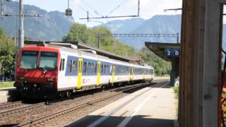 preview picture of video 'SBB RBDe 560 2010 08 07 Maienfeld 02'