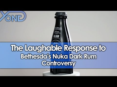 The Laughable Response to Customers Misled by Bethesda's Nuka Dark Rum
