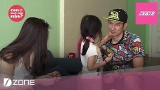 """HTV2 - Bé Cát Cát hài hước ví bố Huy Khánh là """"dì ghẻ"""""""