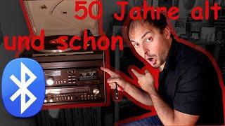 50 Jahre alte Stereoanlage selber mit Bluetooth nachrüsten - Tutorial