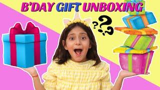 Anantyas Birthday - GIFTS UNBOXING | #MyMissAnand #ToyStars