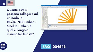 [EN] FAQ 004645 | Quante aste si possono collegare ad un nodo in RF-/JOINTS Timber - Steel to Timber, e qual è l'angolo minimo tra le aste?