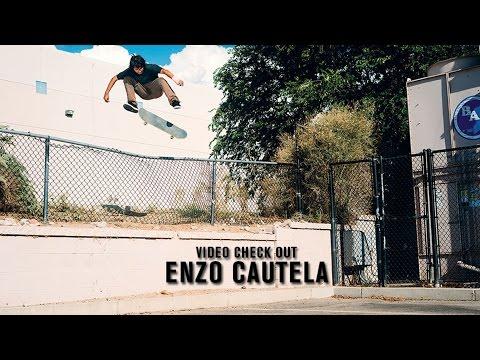 Video Check Out: Enzo Cautela | TransWorld SKATEboarding
