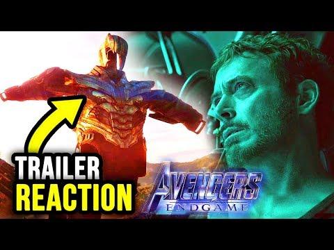 Avengers 4 ENDGAME Trailer Reaction!