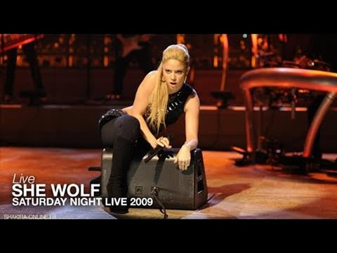 Download Shakira - She Wolf (Live - Saturday Night Live 2009) Mp4 HD Video and MP3
