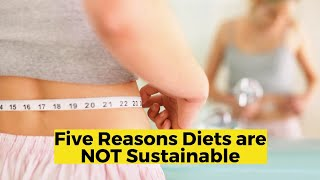 View the video Five Reasons Diets are NOT Sustainable