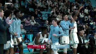 Non conference play Columbia 69, Marist 54 (12/28/19)
