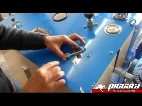 Underwater hull cleaning equipment