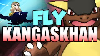 Fly Kangaskhan in Pokemon Sun and Moon?! Pokemon Virtual Console Fly Kangaskhan Glitch