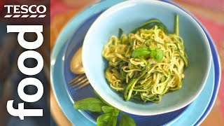 How to make courgetti without a spiraliser