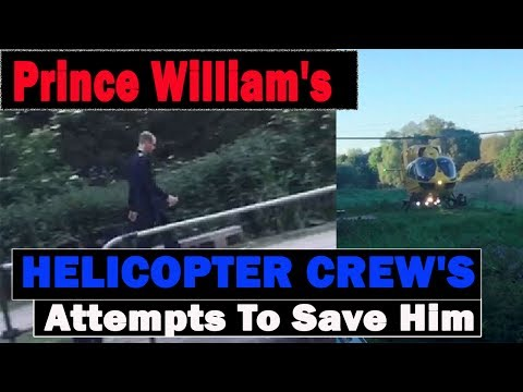Boy, 16, Drowns Despite Prince William's Helicopter Crew's Attempts To Save Him