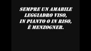 Rigoletto-La Donna è Mobile (Lyrics)