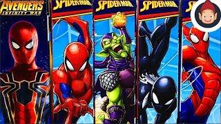 Avengers Infinity War Titan Hero Series Power FX Iron Spider & Titan Hero Series Spider-Man Toys