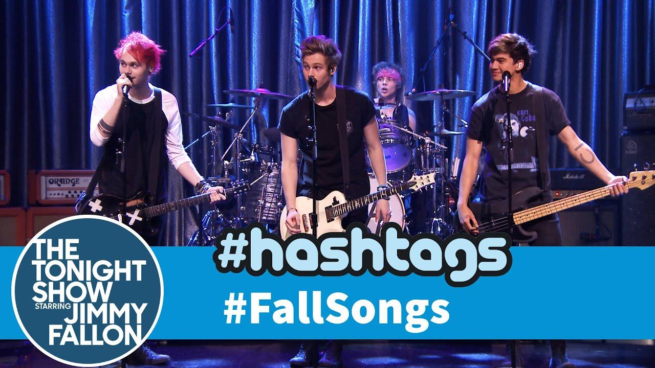 5 Seconds of Summer Hashtags: #FallSongs thumbnail