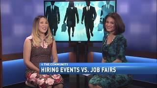 HIRING EVENTS VS. JOB FAIRS
