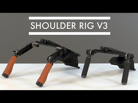 WOODEN CAMERA ANNOUNCES SHOULDER RIG V3