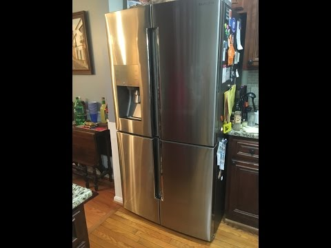 Samsung 28 cu. ft. 4-Door Flex French Door Refrigerator in Stainless Steel review