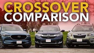 Mazda CX-5 vs Honda CR-V vs Subaru Forester: Which Crossover is the Best Buy?