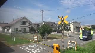 「北海道&東日本パス」の旅・第5弾#26男鹿線追分→二田2018/08/14