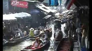 preview picture of video 'Damnoen Saduak Floating Market'