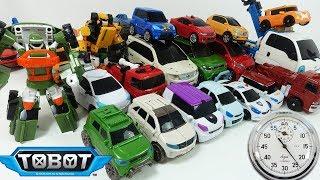 ТОБОТЫ - новый челлендж - Игрушки Тоботы Трансформируем на время. Tobots Toys for kids