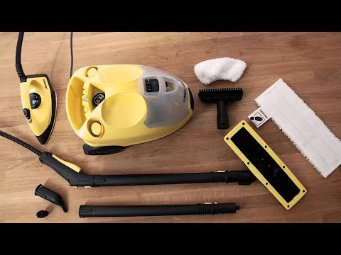 Unboxing af Kärcher SC4 EasyFix Iron Kit Gulvvasker