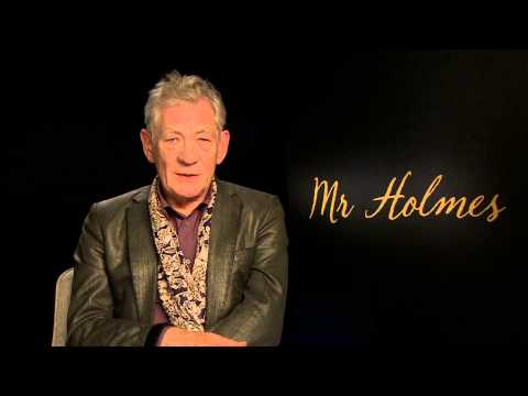 MR HOLMES - IAN MCKELLEN INTERVIEW - CLIP 3 [HD]