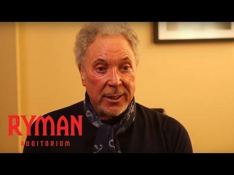 Tom Jones | Backstage at the Ryman Presented by Nissan | Ryman Auditorium