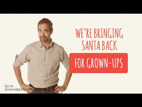 Introducing: Grown-up Letters to Santa