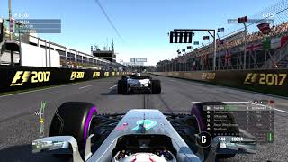F1 2017 Gameplay Lewis Hamilton at Circuit Gilles Villeneuve | PS4 Pro