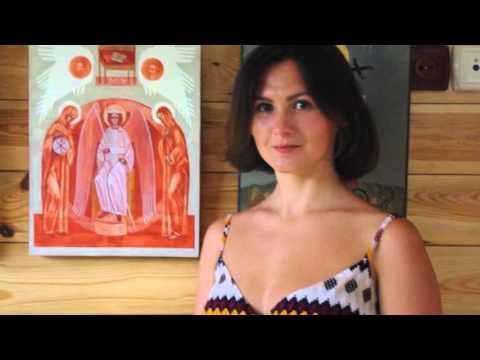 Святі миротворці. V міжнародний пленер іконопису та сакрального мистецтва у Замлинні на Волині. 2015 - YouTube