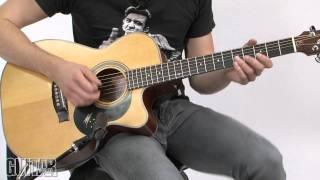 Joe Robinson Lesson - Part 1 (Fingerpicking)
