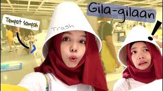 Gila-gilaan! Di IKEA Malu-maluin, Shop With Me - FATIMVLOG33