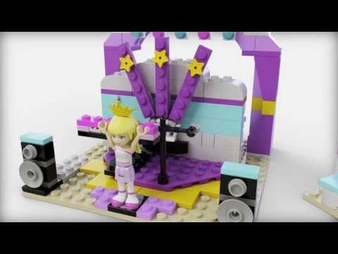 Vidéo LEGO Friends 41004 : Le studio de musique et de danse