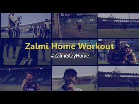 5 Minute Home Workout | #ZalmiStayHome