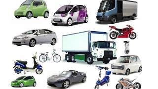 Машинки. Городской транспорт. Машины для детей. развивающий мультфильм, изучаем транспорт и звуки