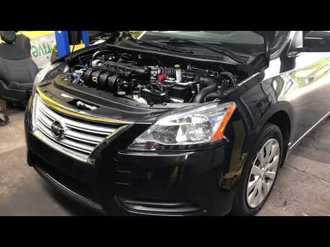 2014 Nissan Sentra accelerator pedal removal