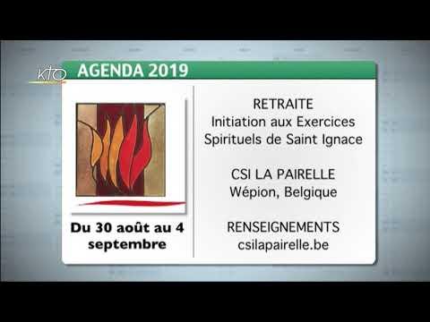 Agenda du 12 août 2019