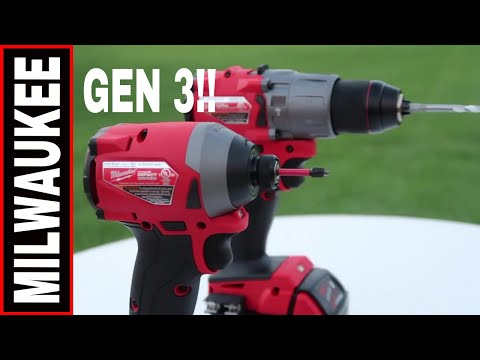 MILWAUKEE DRILL/DRIVER COMBO REVIEW! 2997-22 TOOL REVIEW TUESDAY!