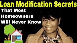 Loan Modification Secrets  Loan Modification Explained