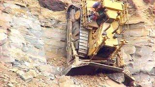 World Dangerous Idiots Bulldozer Heavy Equipment Operator Skill - Fastest Working Bulldozer Driving