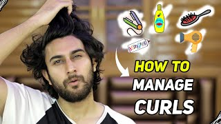 5 TIPS TO MANAGE CURLY & WAVY HAIR | Wash, Style & Maintain Curly Hair | DSBOSSKO