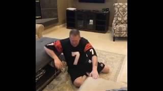 Gary Owen celebrates Cincinnati Bengals 1st win