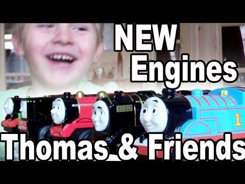 Thomas und seine Freunde: Neue Lokomotiven für die BRIO Bahn | TipTapTube