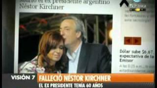 Visión Siete Falleció Néstor Kirchner 17